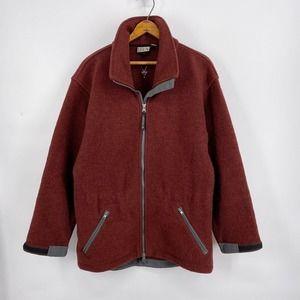 Vintage IBEX Wool Jacket Burnt Sienna Mens Small